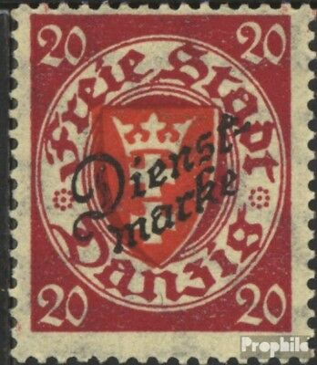 Gdansk D45 used 1924 service mark