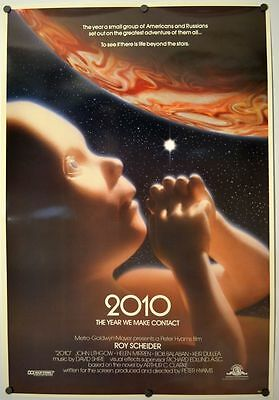 2010 Year We Make Contact - original movie poster  - Rolled