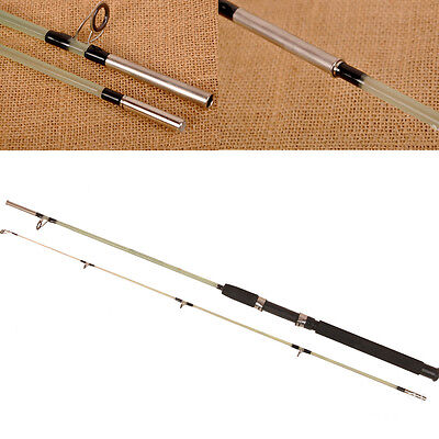 Fiberglass Infarctate 2 Sections Ice Fishing Rod  Long Shot Spinning Pole Rods