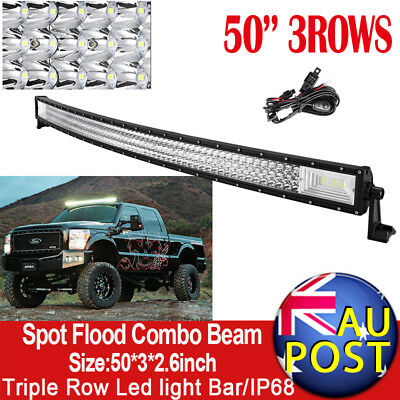7inch 540W CREE Spot Beam LED Work Light Replace HID Offroad Driving Lamps Black