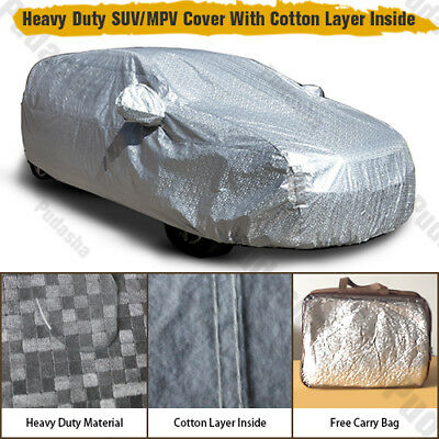 100% Waterproof 10 Layer SUV Car Cover Crossover Off Road Minivan Storage PHSUV