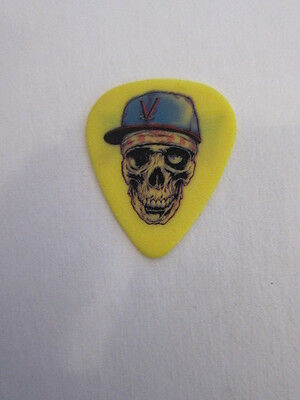AVENGED SEVENFOLD Guitar Pick yellow nightmare tour 2010