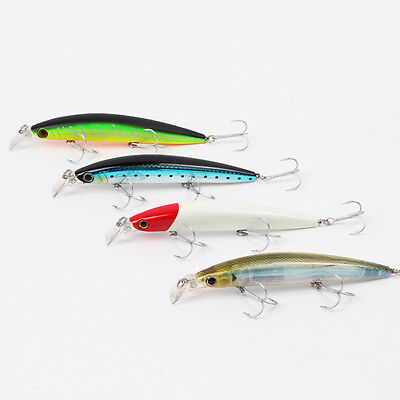 Sea Fishing lure Baits Crank casting trolling Lures Minnow artificial 24g/14.5cm