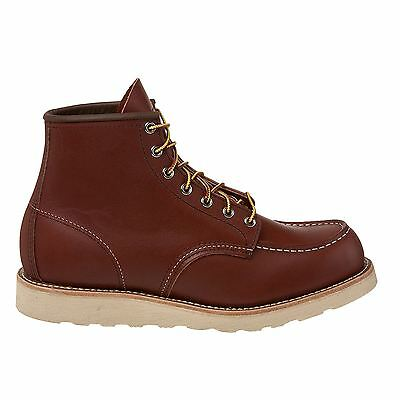 Red Wing Moc Toe 8131 Rust Mens Boots