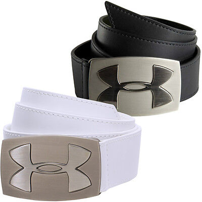 Under Armour 2016 Mens UA Fairway Genuine Leather Golf Belt