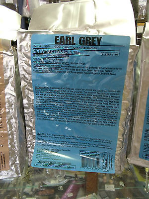 EARL GREY Loose Leaf Black Tea 1/4lb - 1.1 lbs.  Free Shipping to USA & Canada