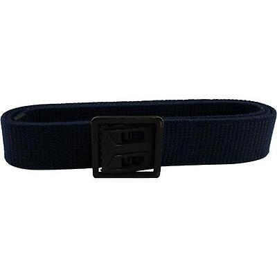 "USAF Air Force Blue Elastic Belt  with Open Face Black Buckle 44"" X 1 1/4"""