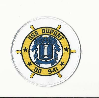 Us Navy Patch - Dd 941 Uss Dupont