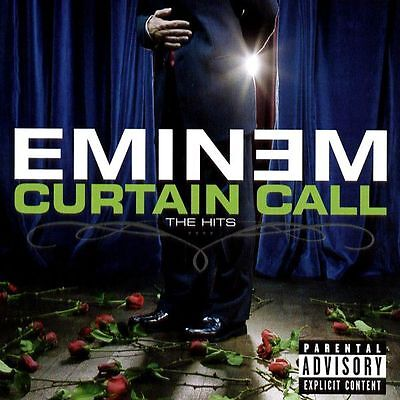 Eminem - Curtain Call The Hits - 2Lp Vinyl Brand New Sealed 2005