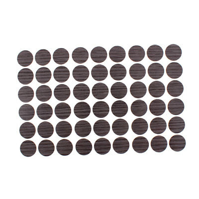 Furniture Self-adhesive Screw Covers Caps Dustproof Stickers Decoration 54 in 1