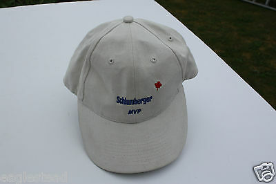 Ball Cap Hat - Schlumberger Canada MVP Top Safety District 2004 Oil Gas (H1423)