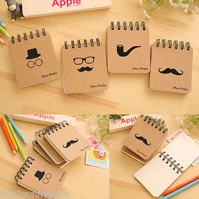 1Pc Portable Mini Notepad Handy Pocket Memo Small Notebook Note Pads Stationery
