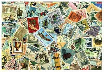 Portuguese Colonies Collection - 400 Different Stamps