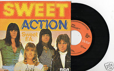 """THE SWEET - Action (Accion), SG 7"""" SPAIN 1976"""
