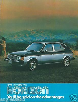 Auto Brochure - Plymouth - Horizon - 1979  (AB842)