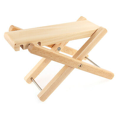 Guitar Erhu FOOT STOOL Footstool Footrest Rest Acoustic Electric Wood New