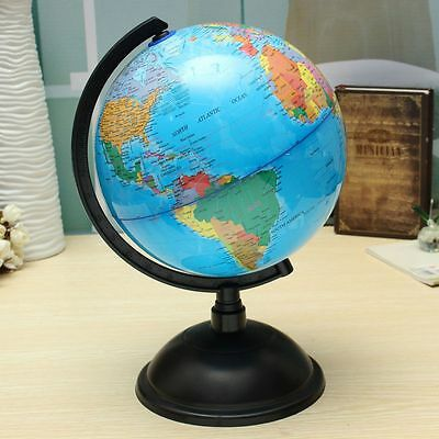 20cm World Globe Country Map Sphere Tellurion Swivel Stand Geography Educational