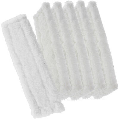 6 x Spray Bottle Cover Cloth Glass Cleaner Pad for KARCHER WV2 Window Vacuum Vac