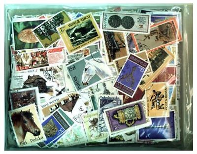 Europe Stamp Collection - 2,500 Different Stamps