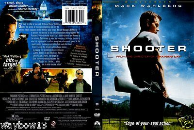 Dvd: Shooter [Mark Wahlberg,danny Glover+] F/s [English,french,spanish Audio]