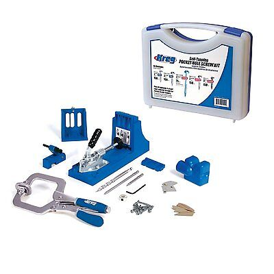 New Kreg Tool K4Ms Pocket Hole Jig Master System Set Kit Free Sko3 675 Screw Set