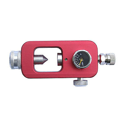 Paintball Scuba Fill Station HPA tank fill Adapter Red