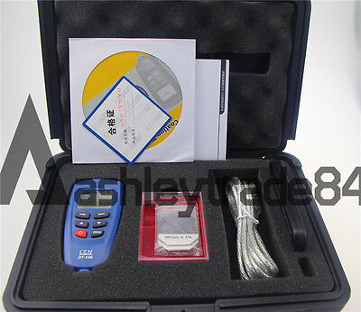 NEW CEM DT-156 Paint Coating Thickness Tester Meter Gauge