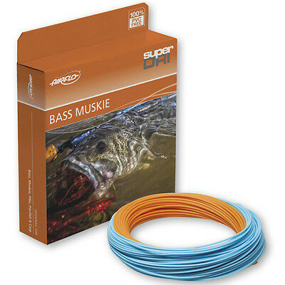 Airflo NEW Super Dri Bass/Muskie Fly Fishing Line All Sizes
