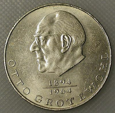 DDR 20 Mark Grotewohl 1973
