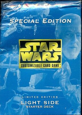 Decipher 1 Starter Preconstruit Star Wars Special Edition  Light Side Limited Ed