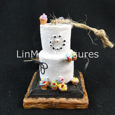 S'mores Cupcake Lover Ornament Loves Cupcakes Midwest CBK