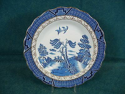 Booth Booths Real Old Willow A8025 Rim Soup Bowl(s)
