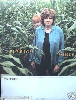 "Indigo Girls 2 U.s. Promo Posters: ""come On Now Social""  & ""all That We Let In"""