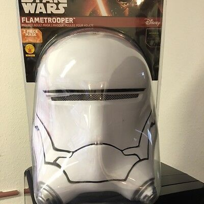 Star Wars The Force Awakens Flametrooper 2 Piece Mask Rubies 32307 New