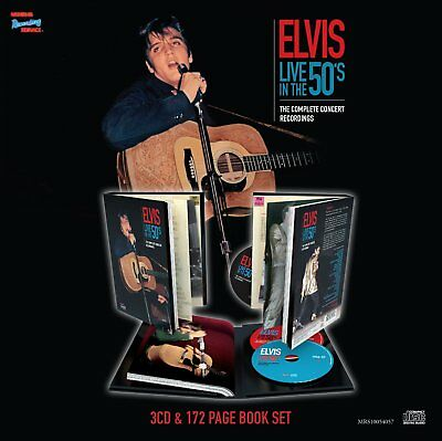 Elvis Presley - Live In The 50s - The Complete Concert Recordings (NEW 3 x CD)