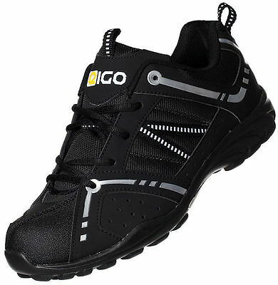 New 2016 Eigo Centaur Kids Cycle Shoes - Bmx Mtb Mountain Bike Spd Youth Junior