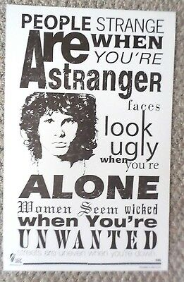 """The Doors """"People are Strange"""" Poster Print"""
