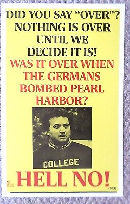 "Animal House ""Hell No"" College Poster Print"