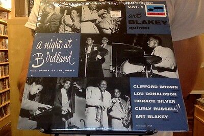 "Art Blakey Quintet A Night at Birdland Vol. 1 10"" LP sealed vinyl RE reissue"