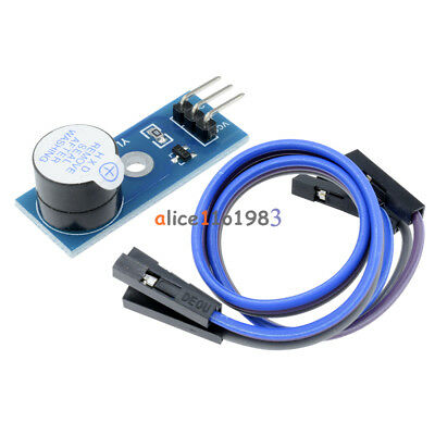 2pcs Active Buzzer 3.3V-5V Alarm Module Sensor Beep for arduino smart car