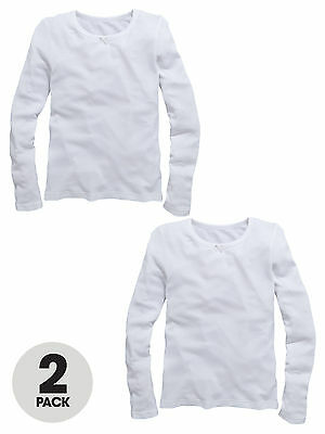 Top Class Long Sleeve Pack Of Two Thermal Vests