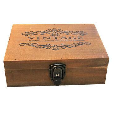 BN Wooden French Provincial Vintage Storage Jewellery Tea Decorative Box Contain