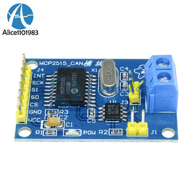 For Arduino MCP2515 CAN Bus Module TJA1050 Receiver SPI Module
