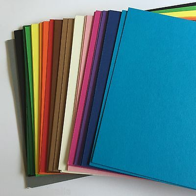 A4 Cardstocok CARD Mixed Pack of 50 Sheets Quality 120gsm 2 of each colour