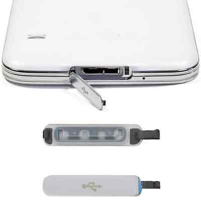 Protable Dust USB Charger Dock Port Plug Waterproof Cover For Samsung Galaxy S5
