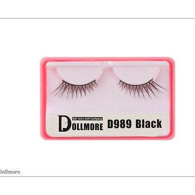 Dollmore OOAK BJD Supplies  Doll eyelashes - D989 (Black)