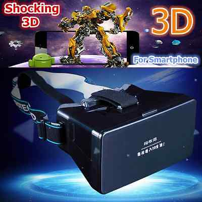"For Iphone 6 Samsung 3.5-5.6""  Virtual Reality VR 3D Video Glasses Universal"