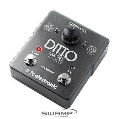 TC-Electronic Ditto X2 Looper Guitar Pedal With Effects
