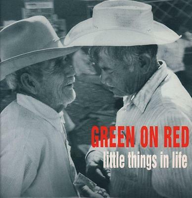 """Green On Red(12"""" Vinyl P/S)Little Things In Life-China-WOKT 2001-UK-199-VG+/Ex"""
