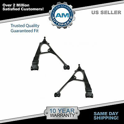 Front Lower Control Arms w Ball Joints Pair Set For Chevy GMC Pickup Truck